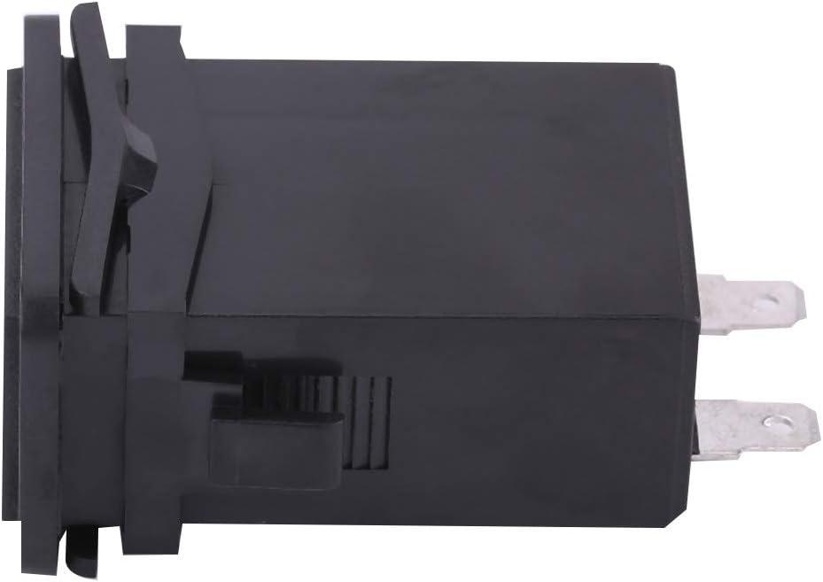 EBTOOLS 6-80V 0.3W Indicatore meccanico di contaore per imbarcazione a motore del generatore di motore diesel a benzina HM001