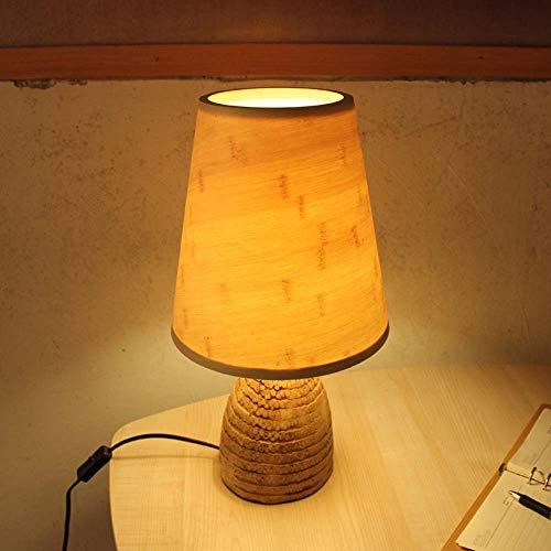CQy Bambus Wurzel Tisch Lampe Bambus Tisch Lampe Schlafzimmer Bambus Tischlampe Studie Bambus Tischlampe
