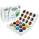 Crayola Lápices de crayones de palma, crayones de huevo, regalo para niños pequeños, 12 unidades