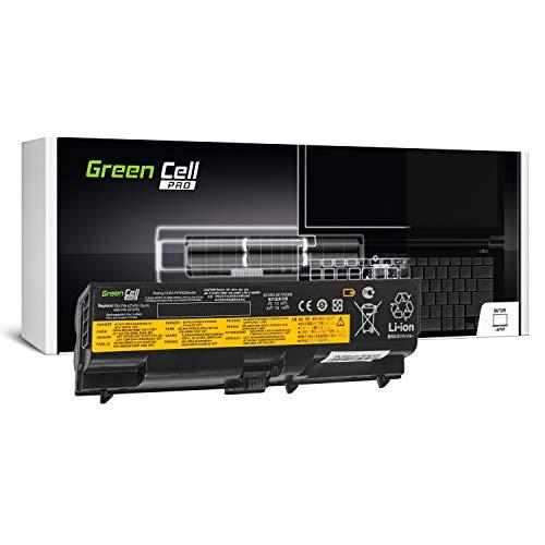 Green Cell PRO Serie 42T4795 Laptop Akku für Lenovo ThinkPad T410 T410i T420 T420i T510 T510i T520 T520i W510 W520 (Original Samsung SDI Zellen, 6 Zellen, 5200mAh, Schwarz)