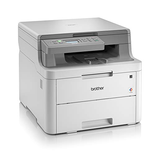 Brother DCP-L3510CDW Kompaktes 3-in-1 Farb-Multifunktionsgerät, weiß