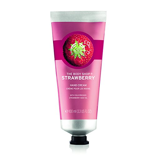 The Body Shop Handcreme, Erdbeere, 100 ml