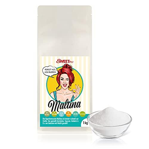 Polvo de maltit de 1 kg, polvo de maltitol de Maltina, dulce, sin azúcar, vegano, bajo en calorías
