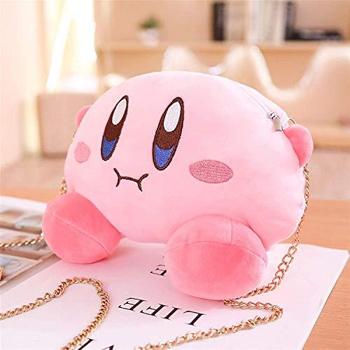 OELPAN Tierfüllte Plüsch Rucksack Tasche Spielzeug - Netter Stern Kirby Messenger Bag Messer Kirby Teddy Spielzeug Weiche Puppe Gefüllt mit Tasche Spitze Rucksack (Farbe: Rucksack)