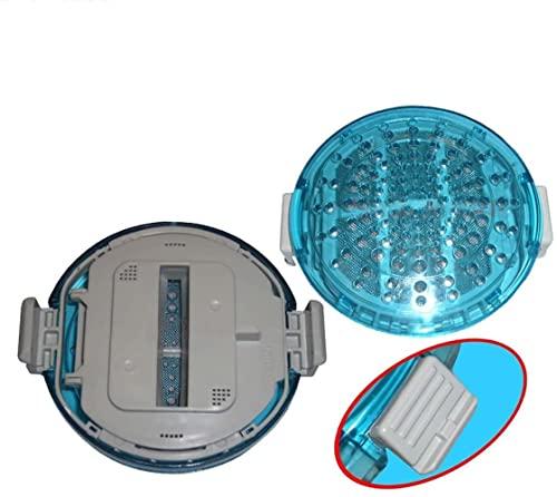 Filtro de Pelusa Redondo de 2 uds para repuestos de Lavadora LG,Red de Malla Antipolvo para T1007W T1103T T1103T T1407M8 Piezas de Repuesto