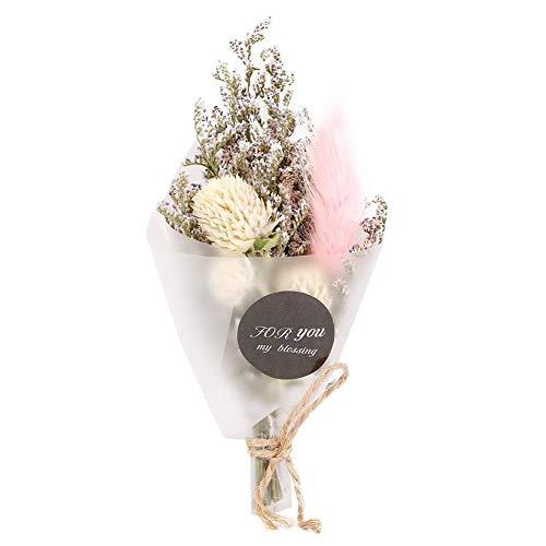 AUNMAS Natürliche Trockenblumen-Blumenstrauß-Blume bündelt Hochzeits-Dekorations-Foto-Requisiten-Feriengeschenk (1#)