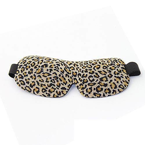 Givekoiu 2019 Sleep Mask for Men & Women, Eye Mask for Sleeping, 3D Contoured Comfortable Ultra Soft Sleeping Eye Mask & Blindfold with Adjustable Strap, Great for Travel/Nap/Night's Sleeping