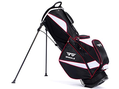Eagole Super Light, Golf Stand Bag with 8 Pockets, One Cooler Pouch