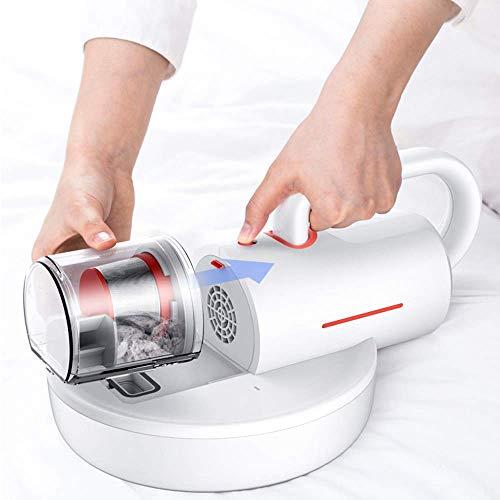 HYY-YY Mini UV Esterilizador aspiradora for Bed hogar, contra los ácaros del Polvo Aspiradora, 12 kPa Grande de succión + 8000 Remoción Veces/Minuto de vibración, Mite + Pasar la aspiradora 2 en 1