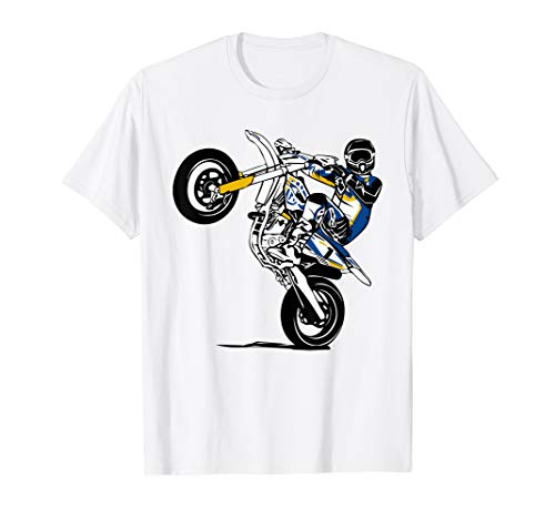 Supermoto T-Shirt Supermotard Enduro Moto Cross Motorrad