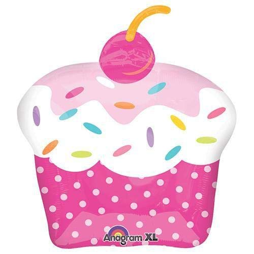 Cupcake Party Foil Balloon