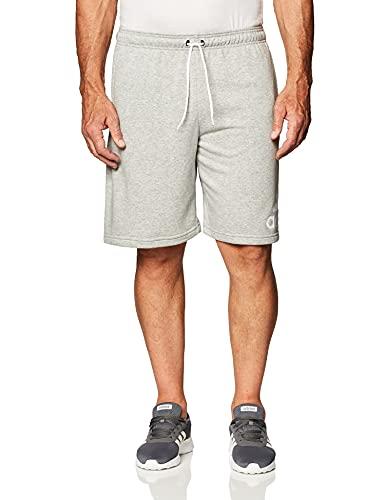 adidas M Mh Bosshortft Sport Shorts, Hombre, Medium Grey Heather/White