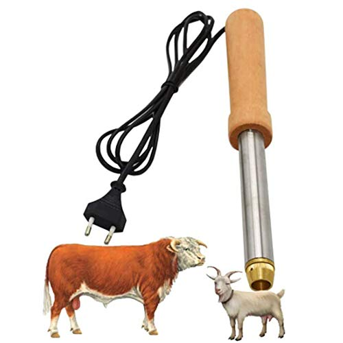 Jnzr Sin Sangre eléctrica Ganado ovejas Quitar Cuerno de Dispositivos, descornador de Becerro Cordero Ovejas de Material de Herramienta agrícola Ganadería
