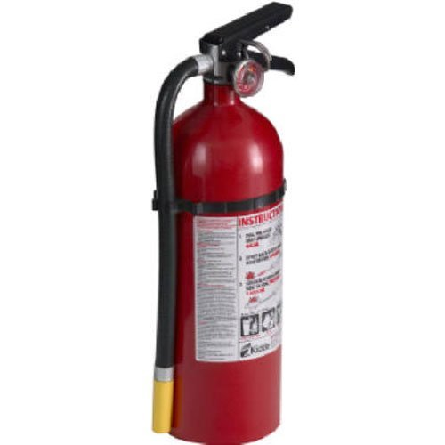 Kidde 21005782 Pro 340 Fire Extinguisher, ABC, Rechargeable