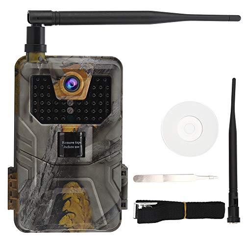 TEANQIkejitop 2G MMS versión al aire libre alta definición impermeable noche cámara de infrarrojos equipo, cámara, cámara de vigilancia, casa (sin batería)