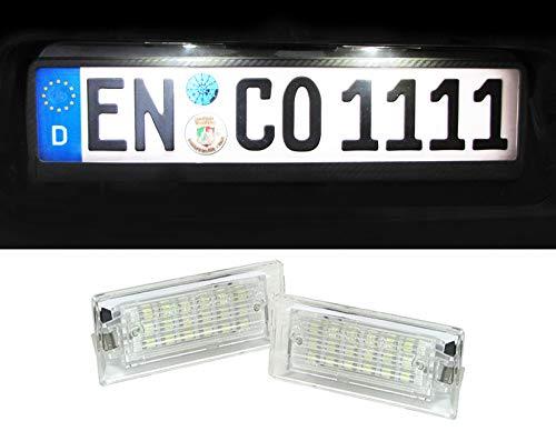 Carparts-Online 22077 LED Kennzeichenbeleuchtung weiß 6000K