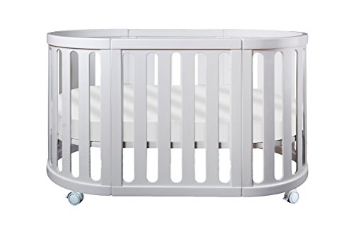 Read About Cocoon Furniture Nest 4-in-1 Crib and Bassinet System in White