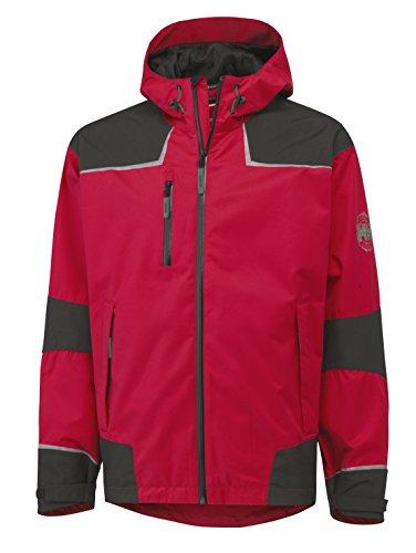 Helly Hansen Workwear Funktionsjacke Chelsea Shell Jacket wasserdichte atmungsaktive Regenjacke 139 M, rot, 71047