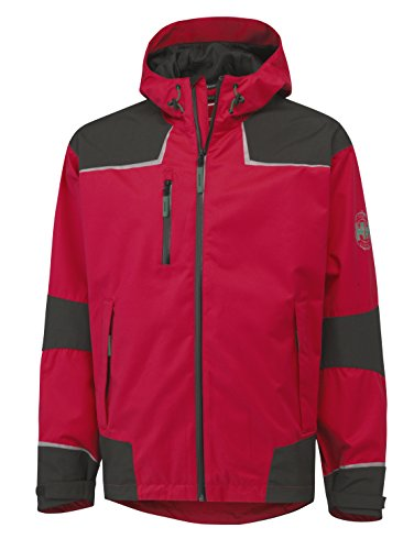 Helly Hansen Workwear Funktionsjacke Chelsea Shell Jacket wasserdichte atmungsaktive Regenjacke 139 XL, rot, 71047