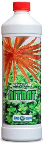 Makro Basic Nitrat 1L I Wasserpflanzen-Dünger zur optimalen Versorgung von Wasserpflanzen im Aquarium