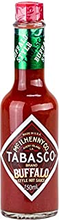 "TABASCO – Buffalo Style Hot Sauce – 150 ml / 0,15 Liter – scharfe Chili-Sauce ""Buffalo""-Art"