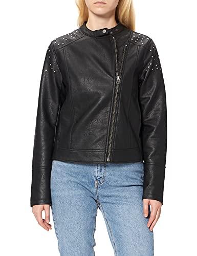 Pepe Jeans Star Chaqueta, (Black 999), Small para Mujer