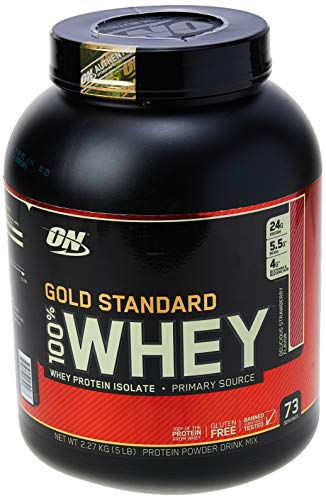 Whey Protein 100% Gold Standard - 2270G Morango - Optimum Nutrition, Optimum Nutrition