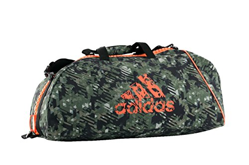 adidas Sporttasche Combat Bag Camouflage/Orange