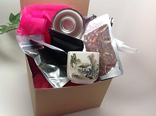 Loose Tea Sampler Gift Wrap Best Seller Small Package Sampler By Music City Tea