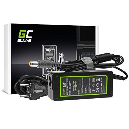 GC PRO Netzteil für Lenovo B590 ThinkPad R61 R500 T430 T430s T510 T520 T530 X200 X201 X220 X230 Laptop Ladegerät inkl. Stromkabel (20V 3.25A 65W)
