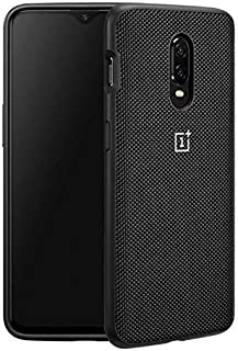Oneplus 6T OFFICIAL BUMPER All Around Protection Back Protective Case - Nylon Black