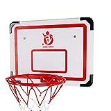 MHCYKJ Mini Canasta Baloncesto Habitacion Juego De Aro para NiñOs Basquetbol con Bola Y Bomba Interior BebéS Pelota Juguete Deportivo