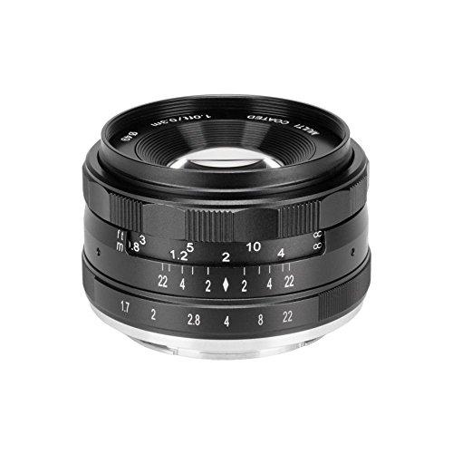 Meike Optics MK 35mm F1.7Sony E-Mount, Lente Gran Angular, Enfoque Manual