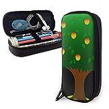 Federmäppchen mit Mangobaum-Motiv, für Jungen und Mädchen, groß, Stifteetui für Studenten, College, Schulbedarf und Büro