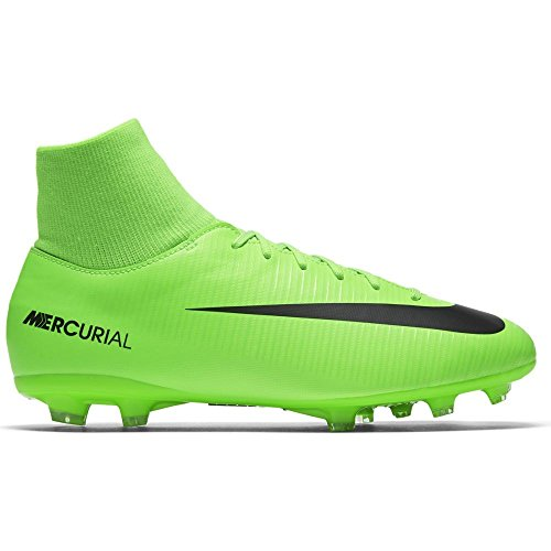 Nike JR. Mercurial Victory VI Dynamic Fit FG Hartböden Kind, Kinder, grün, 37,5 EU