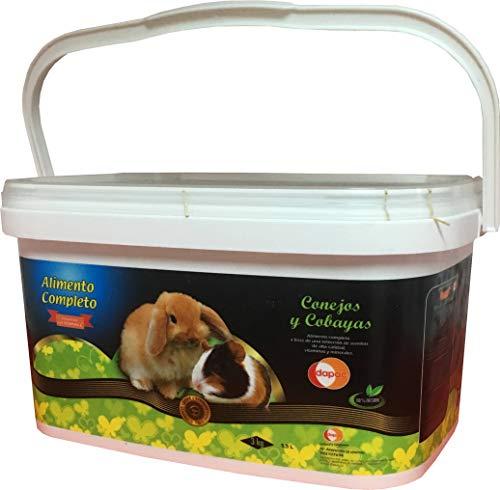 Alimento completo con Vitamina C Premium DAPAC para Conejos y Cobayas Bote 5,5 l (3 kg)