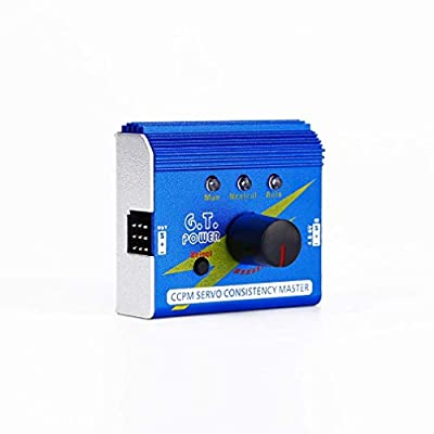 G.T. Power Servo Tester Multi 3CH ECS Consistency Speed Controler Checker CCPM Master for RC Helicopter Car Boat