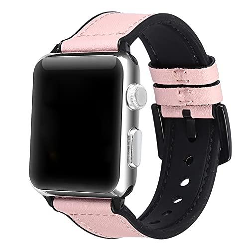 Correas De Cuero Compatibles con Apple Watch Band 38 Mm 40 Mm 42 Mm 44 Mm, Correa De Cuero Retro Compatible para Hombres Mujeres Iwatch SE Series 6/5/4/3/2/11,38mm/40mm