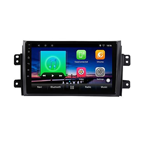 9 pollice Android 10 Car DVD Player GPS per Suzuki SX4 Fiat Sedici 2006 a 2012 2013 audio autoradio stereo navigatore con bluetooth wifi