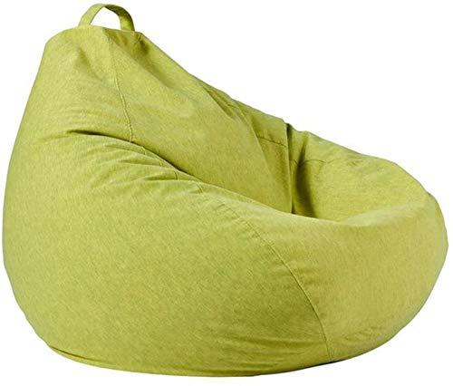 LIjiMY Beanbags Sillón De Bean Bean Sofá Sofá Sofá Sillón Alto Beanbag Silla para Adultos Y Niños Interior Al Aire Libre (Color: Verde, Tamaño: One Tamaño) (Color : Green, Size : One Size)