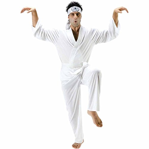 Karate Kid Adult Daniel San Costume Chest Size