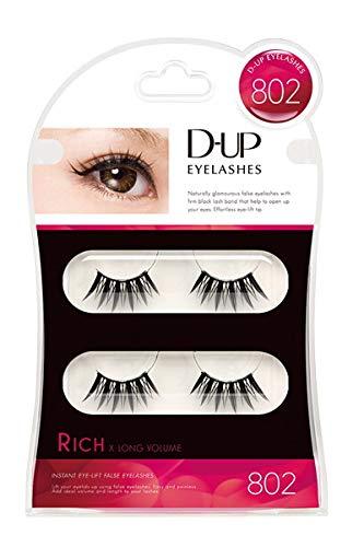 D.U.P Eyelashes RICH 802 [Misc.]