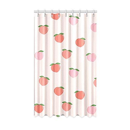 N\A Innenfenster Vorhang Sweet Peach Kleine schöne Verdunkelungsvorhang Kinder 50 x 84 Zoll EIN Stück für Patio Glasschiebetür/Schlafzimmer