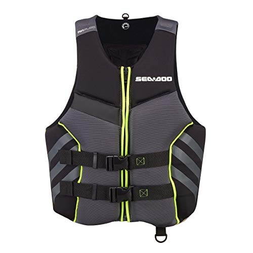 Sea-Doo 2021 Men's Airflow Life Jacket Ecoprene (Black) 285938