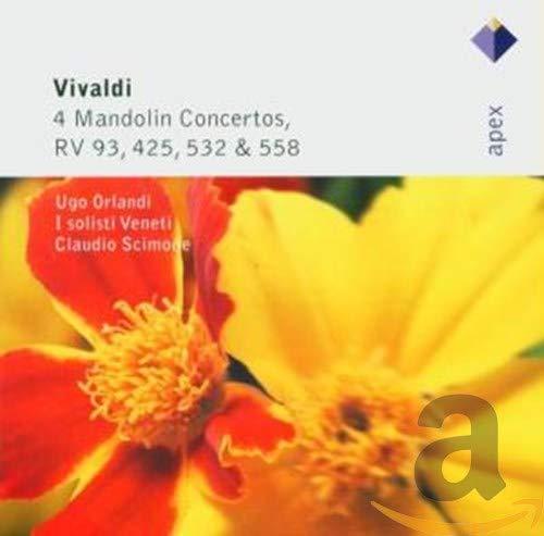 Vivaldi : 4 Concertos pour mandoline RV 93, RV 425, RV...