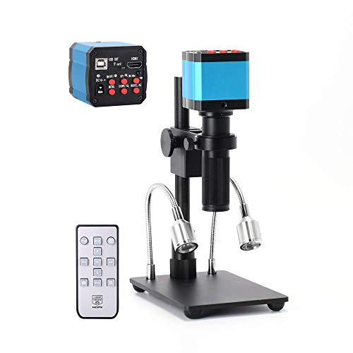 HAYEAR Full Set HDMI 1080P HD USB Digital Industry Video Inspection Microscope Camera with 150X C-Mount Zoom Lens