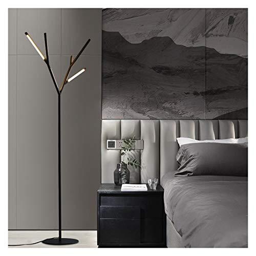 Yxx max -Lámpara de pie Lámpara de pie, LED Creativo Minimalista Sala de Estar Dormitorio Modelo Habitación Lámpara de pie de Mesa Vertical Lámpara de pie Luz Decorativa