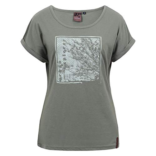 Icepeak Damen T-Shirt Antwerp 54662 Antique Green L