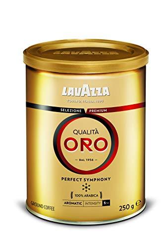 Lavazza Café Moulu Qualità Oro Perfect Symphony, Espresso 100% Arabica, Boîte 250 g