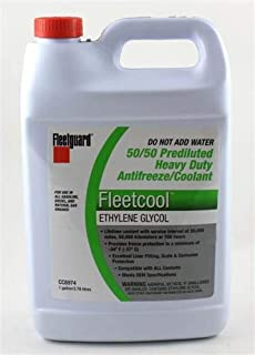 FLEETGUARD CC8974 COOLANT ANTIFREEZE GREEN 50/50 (6 PCS/BOX)